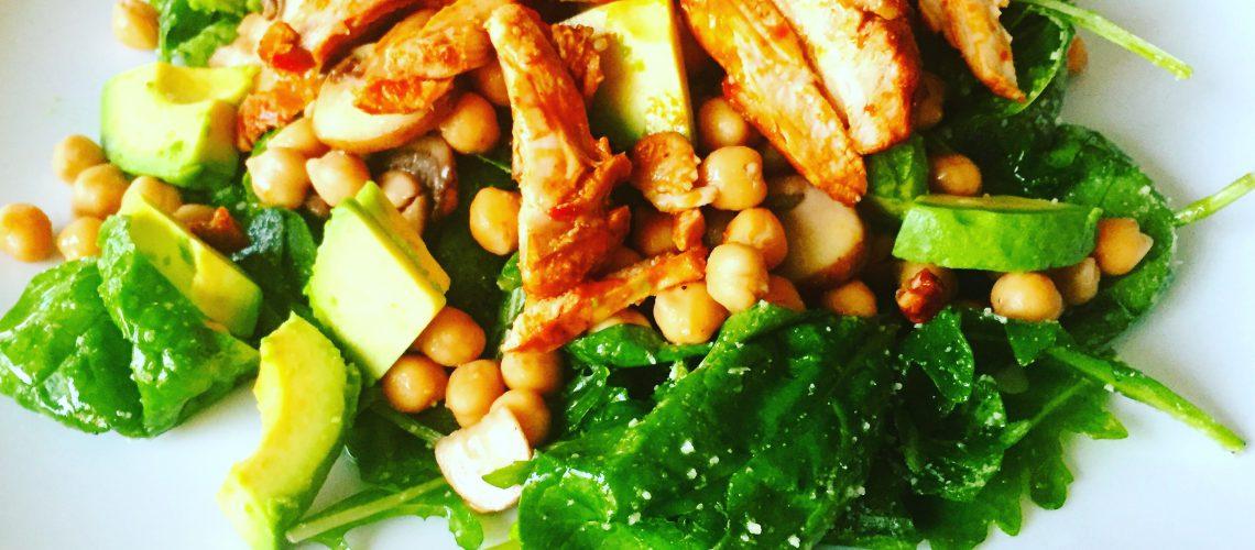 Spinazie salade foto